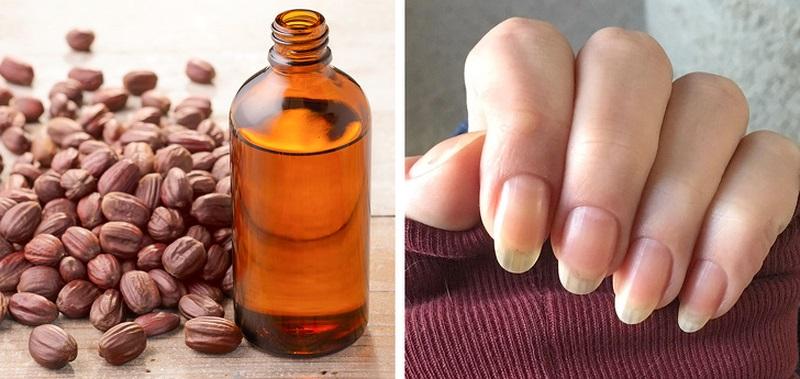 Để làm cho đôi tay của bạn mềm mại, hãy sử dụng dầu jojoba.