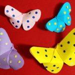 Nghệ thuật gấp giấy Origami là gì? Cùng gấp bướm đẹp-độc-lạ mang phong cách Origami Nhật Bản