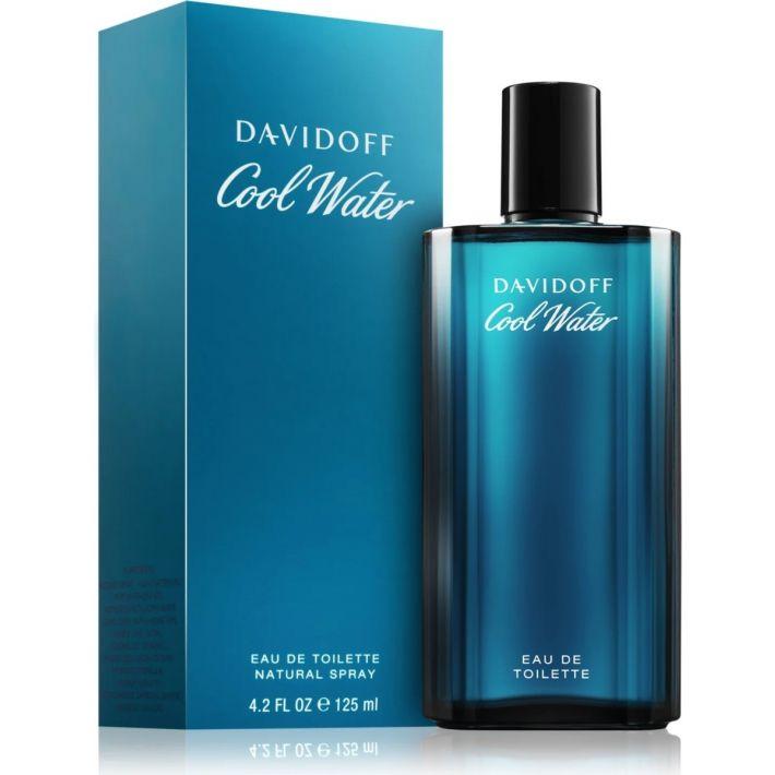 cool water davidoff homme boite et flacon du parfum