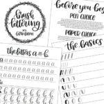 Hướng dẫn chọn và review các loại bút Brush pen viết Calligraphy