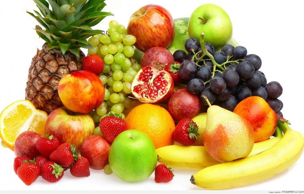 Bổ sung thêm nước uống và trái cây