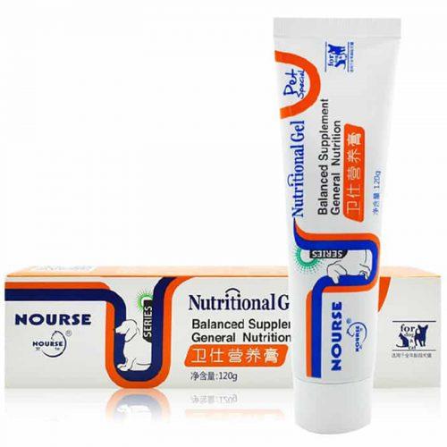 kem dinh duong cho cho meo nourse nutritional gel 500x500