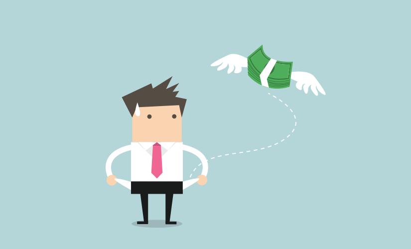 Làm gì khi lỡ tiêu hết tiền?
