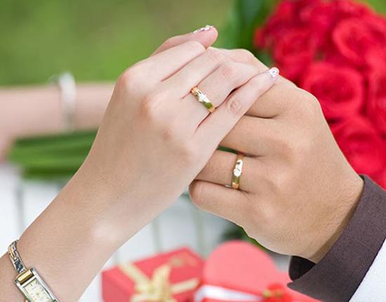 Nhẫn cưới minh chứng hôn nhân