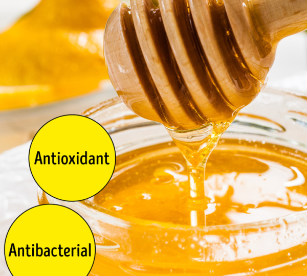 Mật ong giúp kháng khuẩn