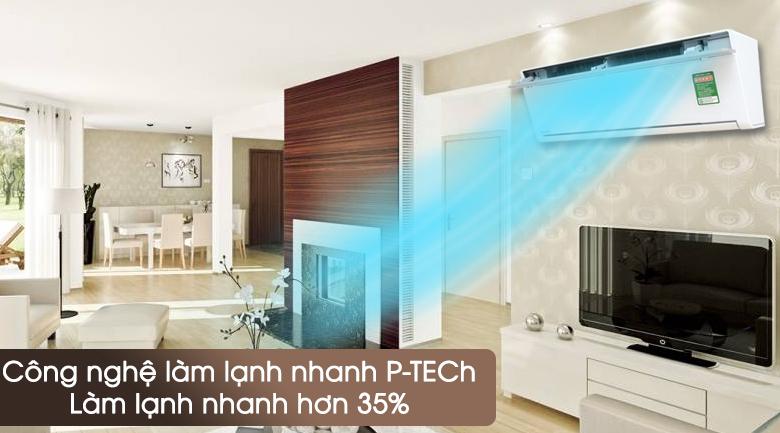Máy lạnh PANASONIC Inverter 1.5 HP CU/CS-VU12SKH-8 có độ bền cao