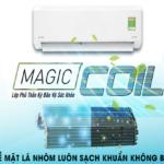 Máy Lạnh Inverter Toshiba RAS-H10D1KCVG-V 1 HP với công nghệ chống bám bẩn độc quyền Magic Coil