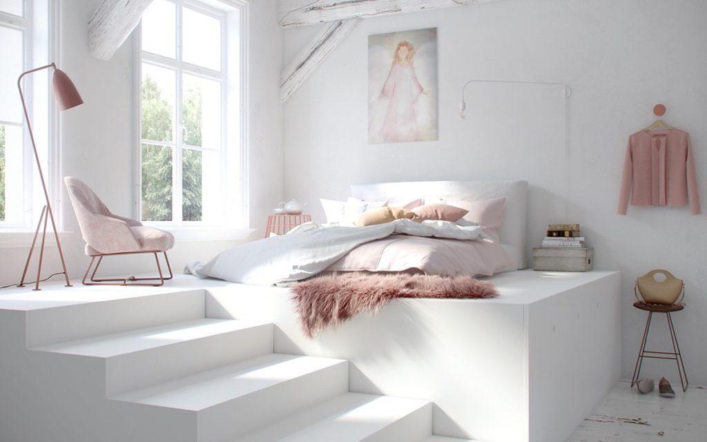 Những phòng ngủ theo màu yêu thích