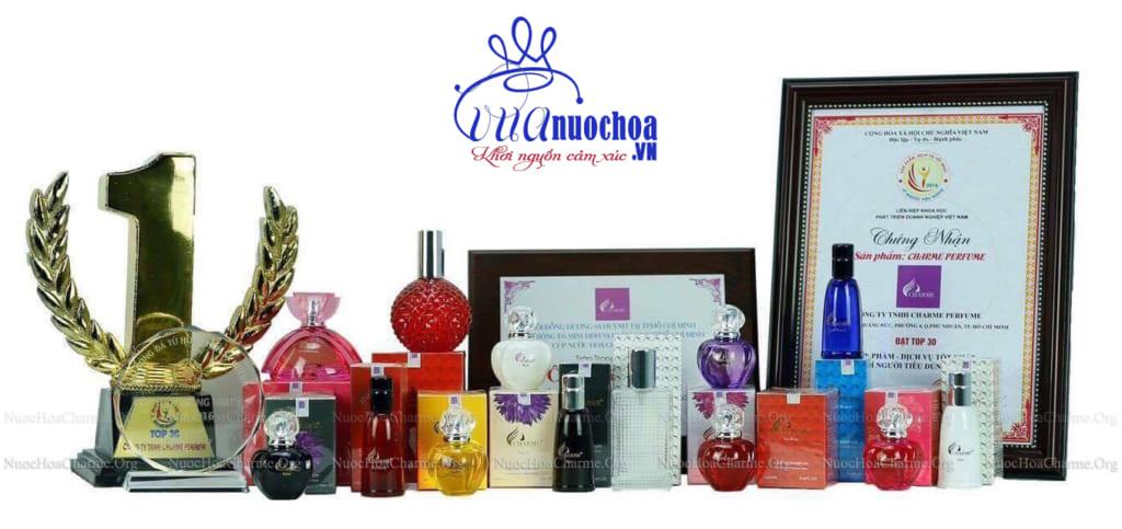 Review nước hoa Charme Perfume có tốt không? Top 05 loại nước hoa Charme nữ bán chạy nhất hiện nay