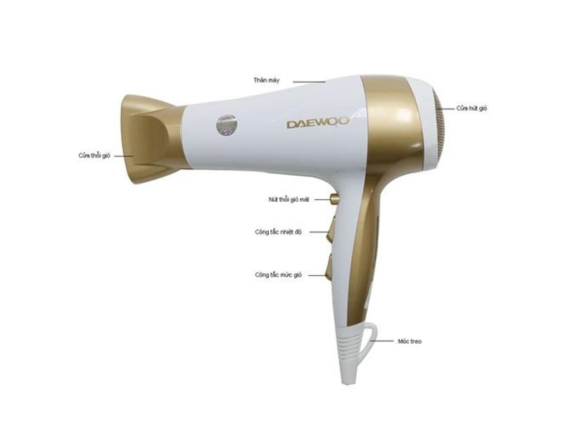Hình ảnh sản phẩm máy sấy tóc Daewoo
