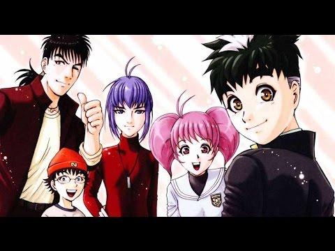 Megumi, Kinta, Kazuma và Ryu