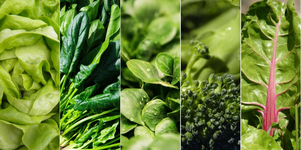 Nên ăn rau xanh cho ngày đèn đỏ