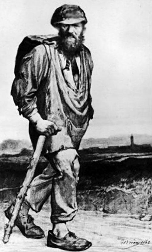 hình ảnh Jean Valjean trong Những người khốn khổ