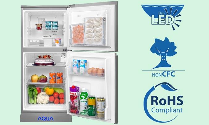 Tủ lạnh Aqua AQR-125EN(SS) có tốt không?