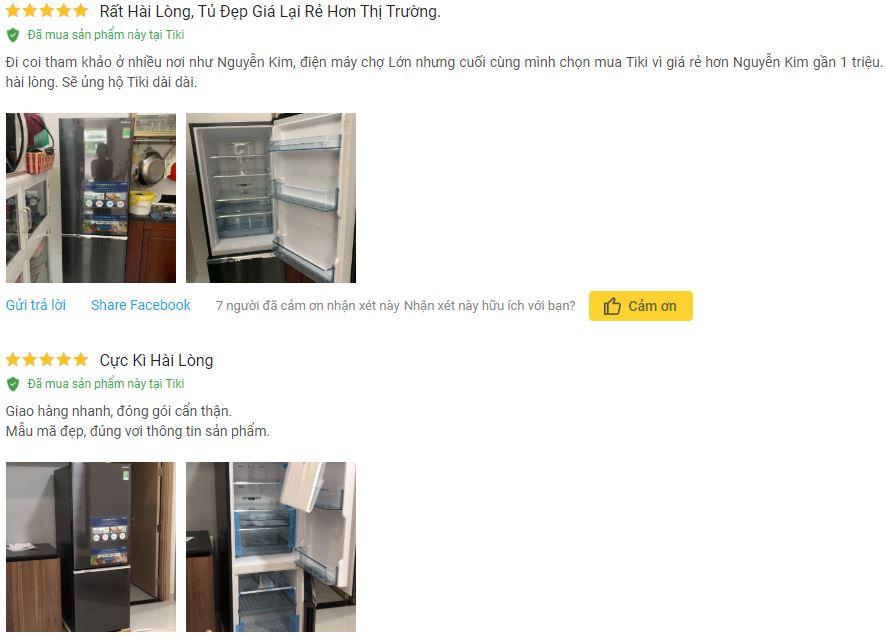 Đánh giá Tủ Lạnh Inverter Hitachi R B330PGV8 BBK 275 lít