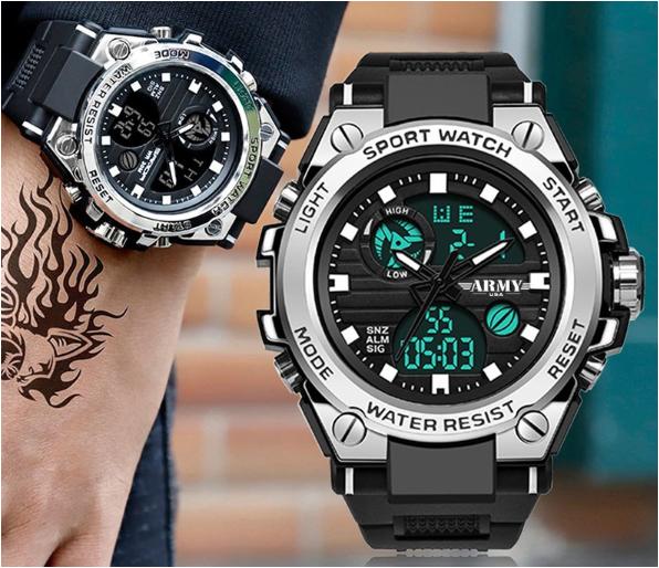 Đồng hồ ARMY thể thao nam tính đeo tay rất sang