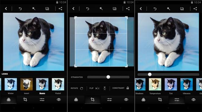 Ứng dụng chỉnh sửa ảnh Photoshop Express