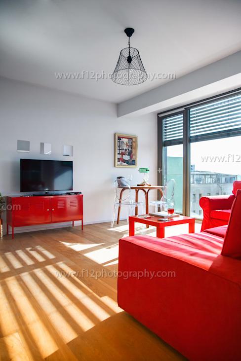 Phòng khách theo f12 Photography, Hiện đại