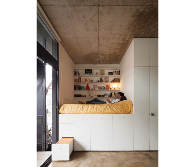 Phòng ngủ theo IR arquitectura, Hiện đại Gỗ Wood effect