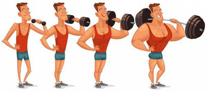bí quyết tăng cơ bắp