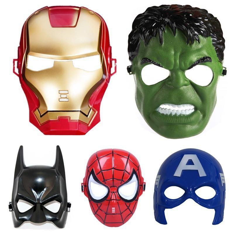 Mặt nạ siêu anh hùng vui chơi tết trung thu