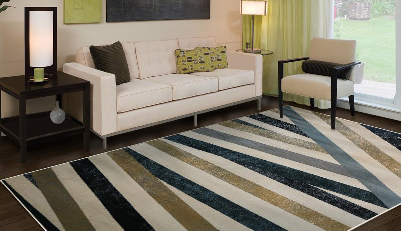 Sử dụng thảm để phân vùng