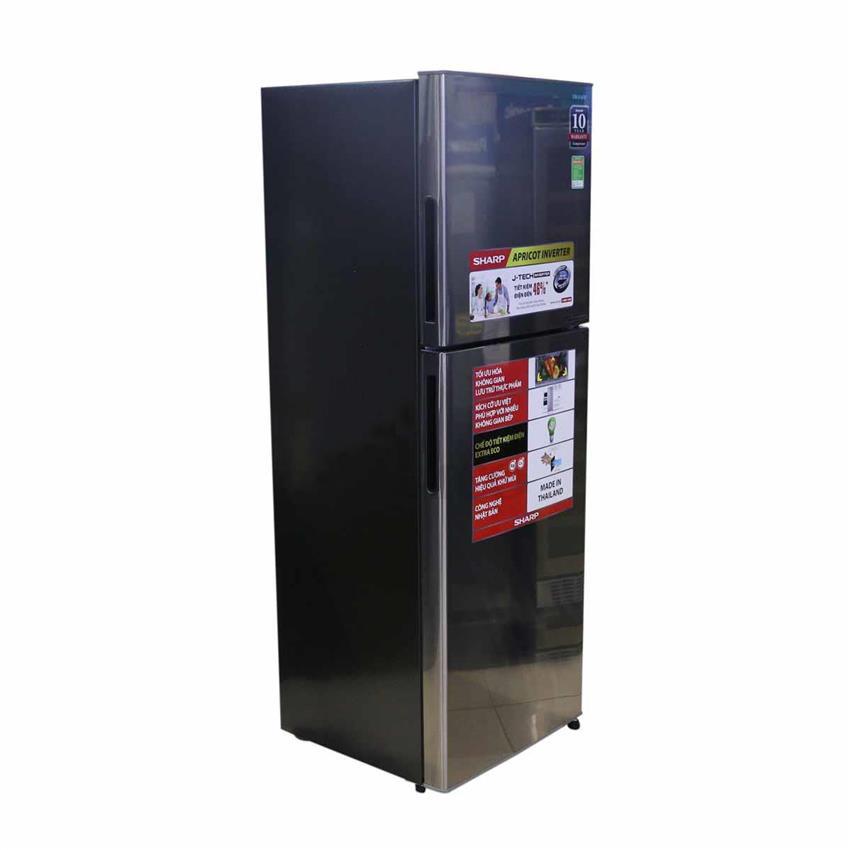 Tủ Lạnh Inverter Sharp SJ-X251E 224 lít