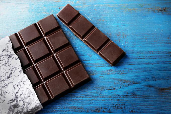 Chocolate đen bổ sung năng lượng cho cơ thể