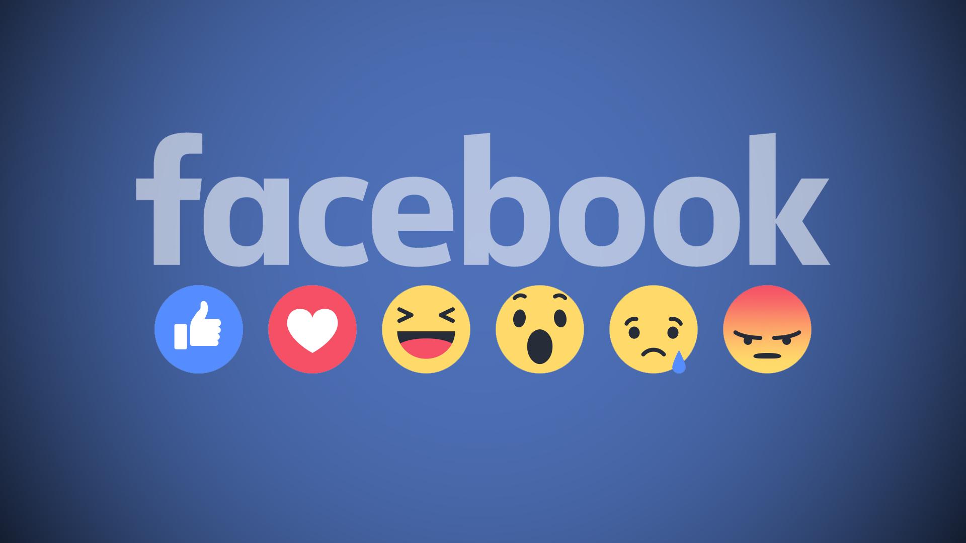 Bày tỏ cảm xúc cho bài viết Facebook