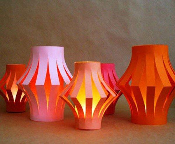 Cách làm đèn lồng giấy