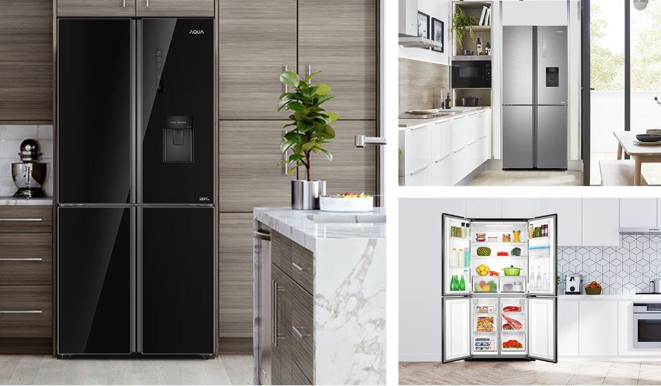 Tủ lạnh Aqua AQR-IGW525EM(GB)
