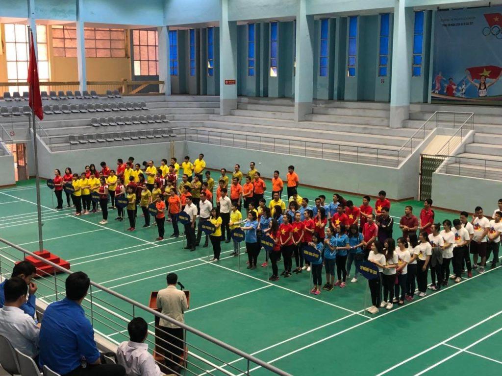 Cuộc thi thể thao giữa học sinh