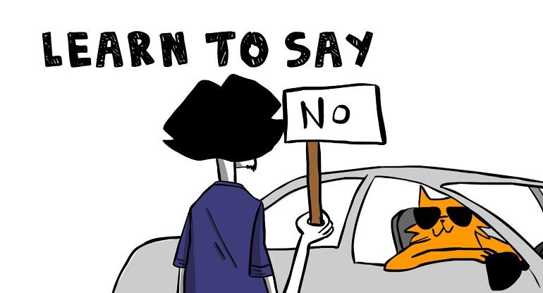 """Học cách nói """"không"""""""