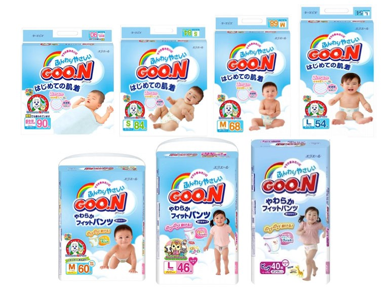 Bỉm Goo.n của Nhật Bản