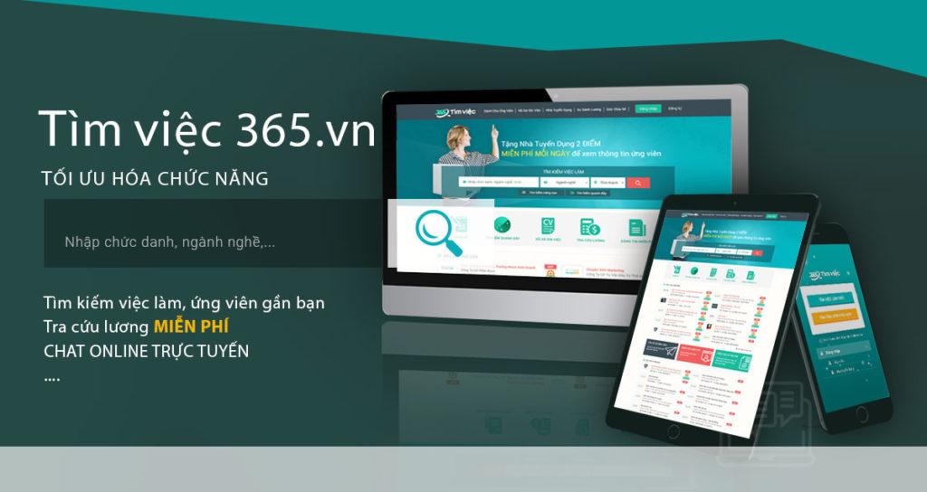 Kênh hỗ trợ tìm việcTimviec365.vn