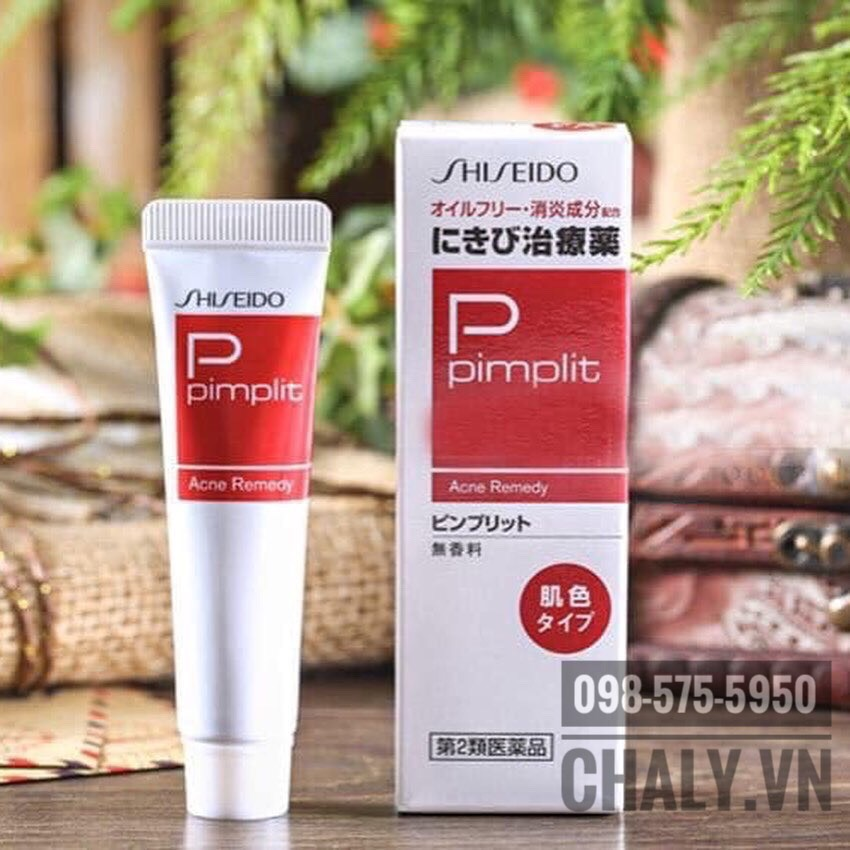 Kem tri mun Shiseido Pimplit nhat ban 08