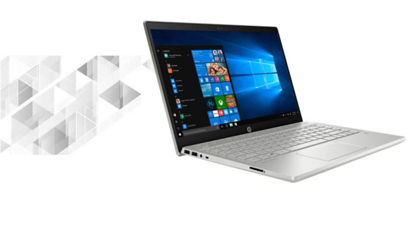 Laptop HP Pavilion 14 màu bạc sang trọng