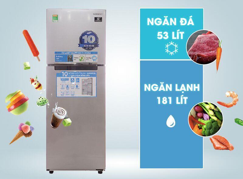 Tủ lạnh Samsung Inverter 236 lít