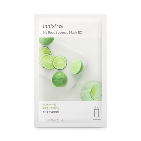 My Real Squeeze Mask EX [Lime] 20ml