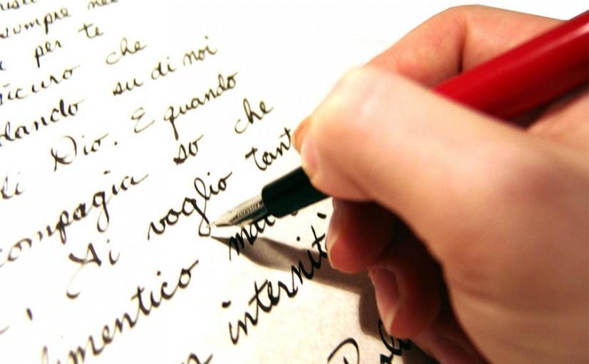 Nét chữ viết tròn trịa