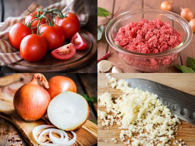 Nguyên liệu giúp món mì Ý thơm ngon đúng điệu.
