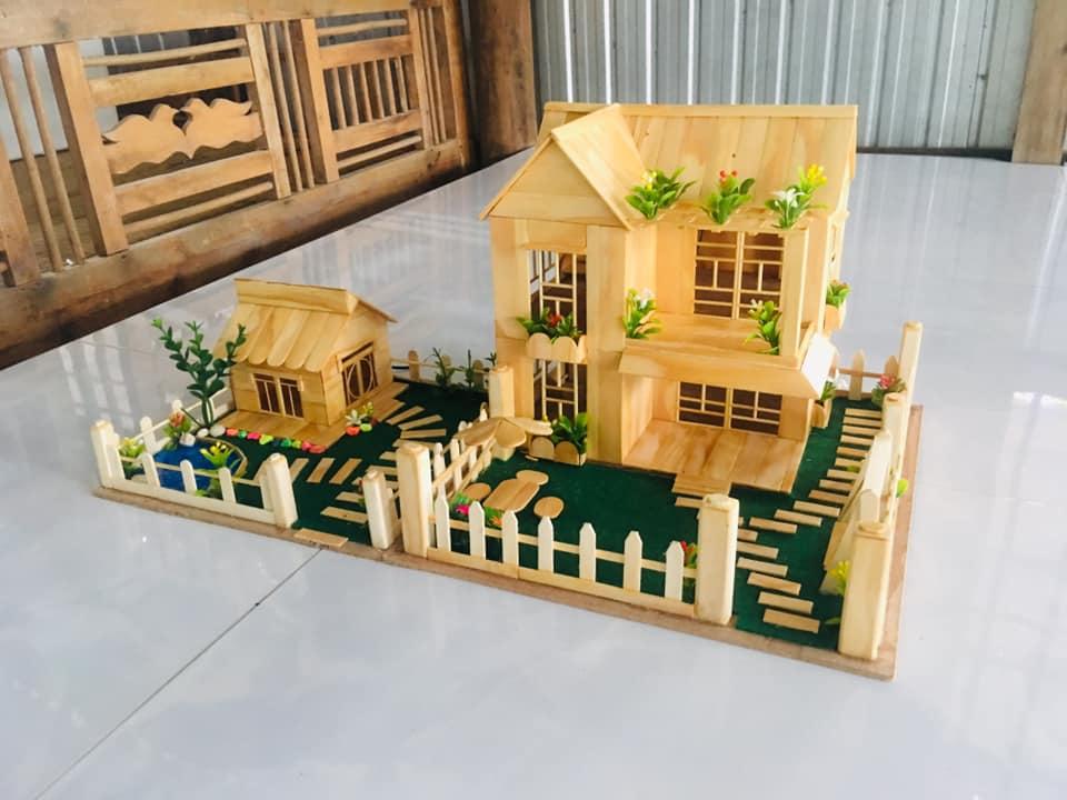 Nhà gỗ sáng tạo tặng bạn gái