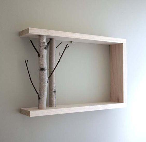 Tự làm kệ gỗ theo cách độc đáo