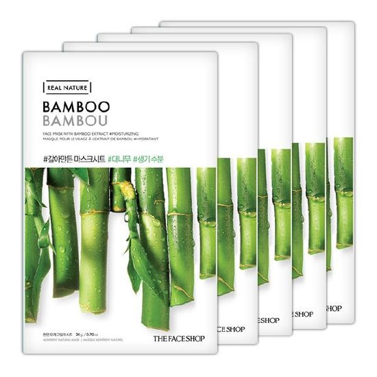 The Face Shop Real Nature Mask Bamboo