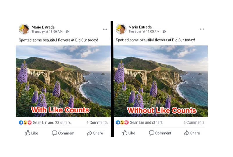 Xôn xao vì Facebook ẩn like