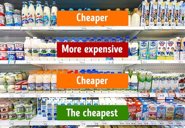 Mẹo đi siêu thị