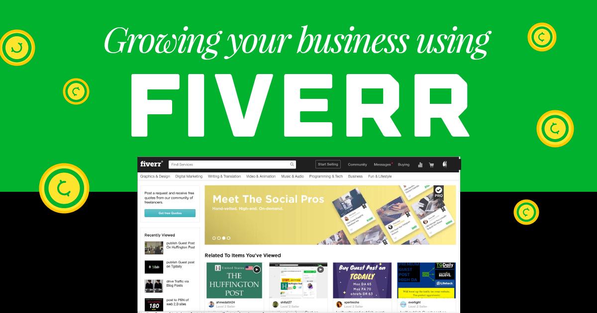creative freelancing fiverr