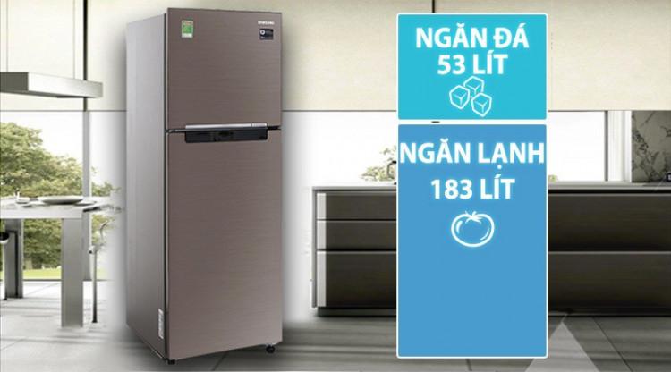Đánh giá tủ lạnh Samsung Inverter RT22M4032DX/SV 236 lít