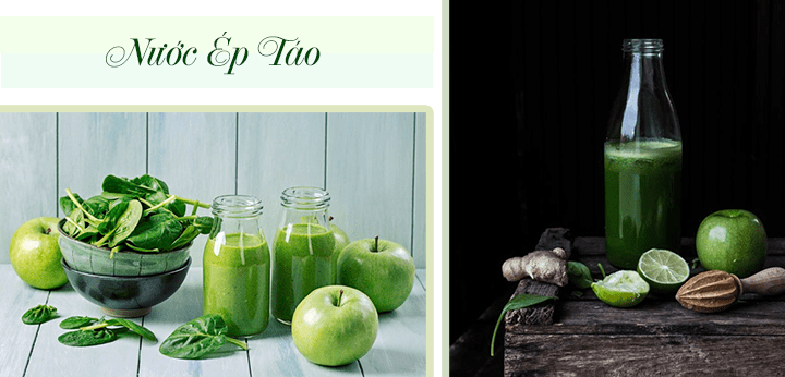 Nước ép táo giúp chị em giảm cân