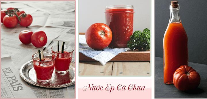 Cà chua được lựa chọn để giảm cân an toàn